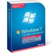 Microsoft Windows 7 Professional,  Russian,  BOX